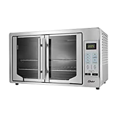 Single door pull opens both doors with 1 hand ease and convenience Digital controls provide precise cooking time and temperature to take the guesswork out of cooking Turbo convection baking technology cooks faster and browns more evenly Two racks pro...