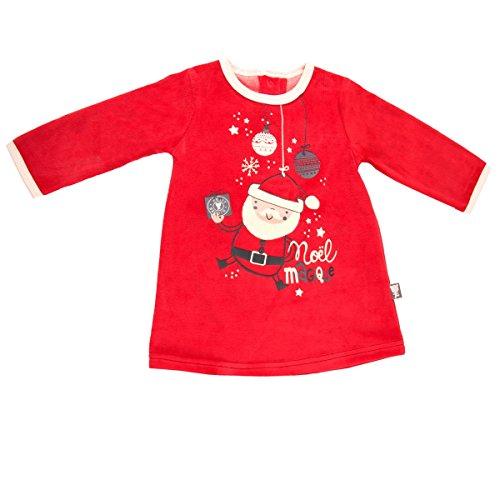 Robe bébé fille Super Noël - Taille - 6 mois (68 cm)