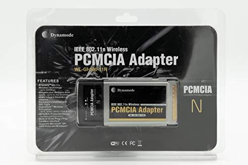 Dynamode Wireless 802.11N PCMCIA Adapter 300 Mbit/s