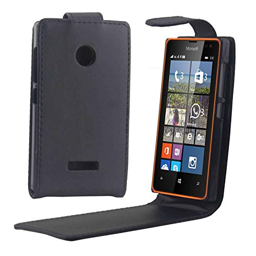 KONGX Ipaner Fall Vertical Flip Magnetic Button Leather Hülle for Microsoft Lumia 532