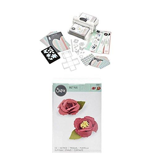 Sizzix Big Shot Plus Starter Kit + fustella a forma di fiore