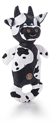 CHARMING Pet Products Patches Small Cow Toy