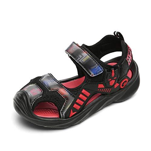 KUBUA Boys Girls Toddler Sandals Close Toe Outdoor Sport Summer Shoes for Kids