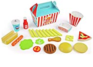 Perfect for roleplaying fun, your children will love 'going out' for fast food with this wooden set. Being wooden it is built to last and is well designed to look like some of their favourite foods. The set all comes packaged in a fast food box, read...