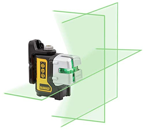 DEWALT Laser Level, Multi-Line, Green, 30-Foot Range (DW089CG)