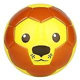 BORPEIN Bola de espuma suave de 15,2 cm, diseño de animales, para niños pequeños, suave y rebosante, tamaño perfecto para niños jugando desde Reino Unido (león)