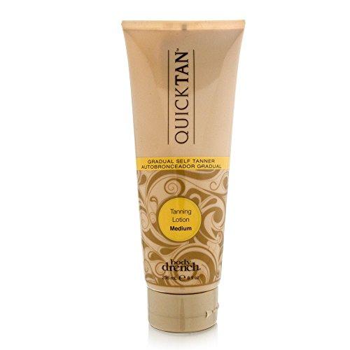 Body Drench Quick Tan Gradual Tanning/Bronzing Lotion - Medium, 8 Fl Oz