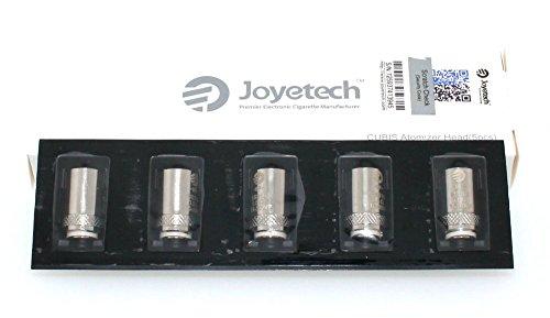 Joyetech - BF Clapton en 1.5 Ohm - Cabezas Atomizadoras BF para Cubis - 5 Partes - Kanthal Modo VW - Sin Tabaco - Sin Nicotina