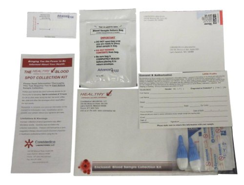 Best Home Cholesterol Test FDA Certified Complete Lipid Panel LDL, HDL and Triglycerides Test Kit