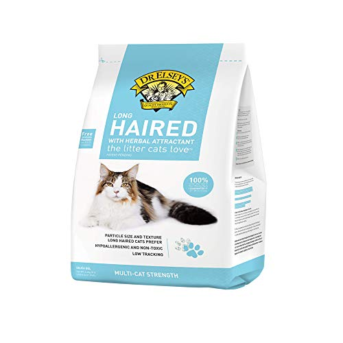 Dr. Elsey's Long Haired Cat Litter, 8lbs