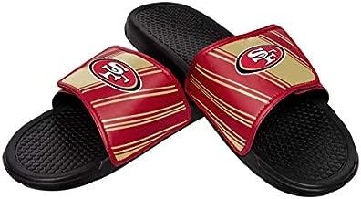 NFL Mens Legacy Sport Slide, San Francisco 49ers, Medium / 9-10, Team Color