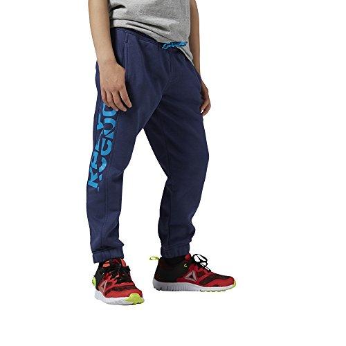 Reebok AY0790 - Pantalones deportivos para niños, color Azul (Bluink), talla L