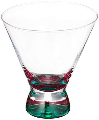 DANSK スペクトラ カクテルグラス グリーン 507060