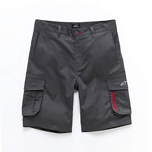 Alpinestars Pitpass Cargo Short, Gris (Dark Charcoal 180), W30/L30 (Talla del Fabricante: 30) para Hombre