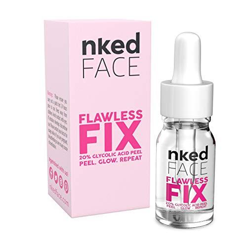 Flawless Fix™ Exfoliador de piel químico para eliminar el acné, antiarrugas, 20 % de ácido glicólico