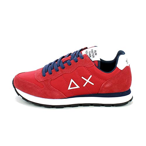 Sun 68 Sneakers Uomo Modello Tom Solid Colore Rosso (Numeric_43)