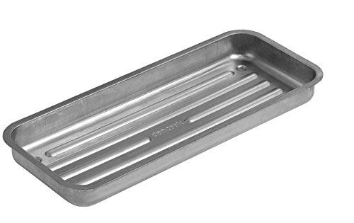 Vassoio Carbonella Dancook - (prodotto num. 120 131), Adatto ai Barbecue dancook 7100, 7200, 7300, 5100 e 5200, Acciaio Alluminato