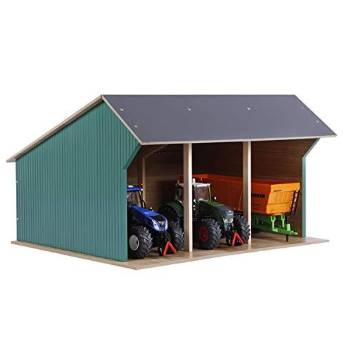 Unbekannt Kids Globe Spielzeug Landmaschinen Scheune Traktoren Groß 1:32 Holz Bauernhof