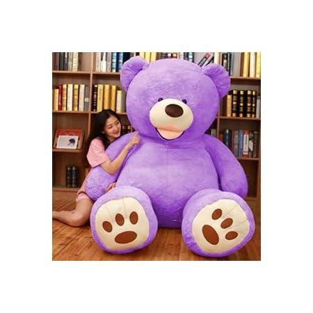 ぬいぐるみ 特大 くま/テディベア 可愛い熊 動物 大きい くまぬいぐるみ/熊縫い包み/クマ抱き枕/お祝い/ふわふわぬいぐるみ ( (130cm)