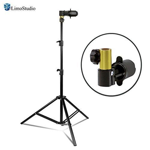 LimoStudio写真ビデオ写真スタジオ背景と反射板ディスクホルダークリップ、ライトスタンド、クイックと簡単インストール、agg2420