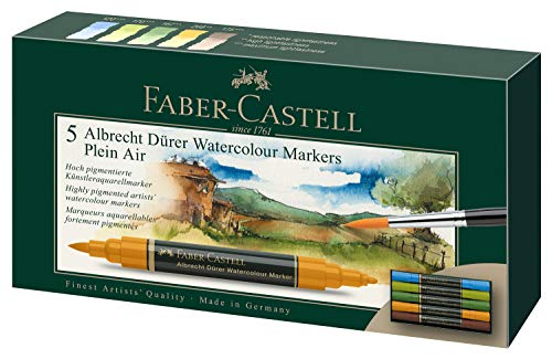 Rotuladores Acuarelables Faber Castell Marca Faber-Castell