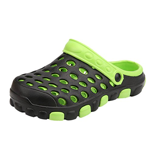 Dintang EVA Zapatos Zuecos Unisex Adulto,Antideslizante Playa Zapatillas Respirable Ahueca hacia Fuera Las Sandalias