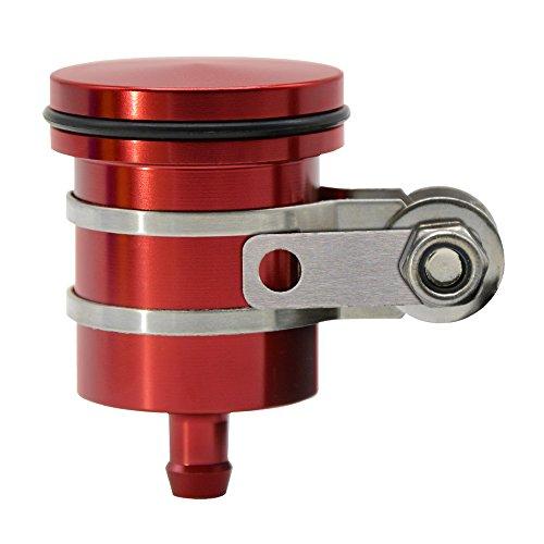Motocicleta Partes Universal CNC ALU Racing Delantero y Trasero Cilindro Maestro Depósito de Frenos Copa líquido depósito de Aceite