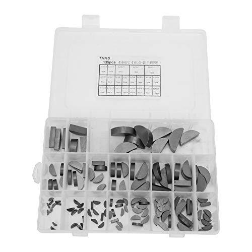 Polea Crank Way, Woodruff Key Larga vida útil Portátil Conveniente para acceder a 21 tipos con caja para múltiples propósitos para bricolaje