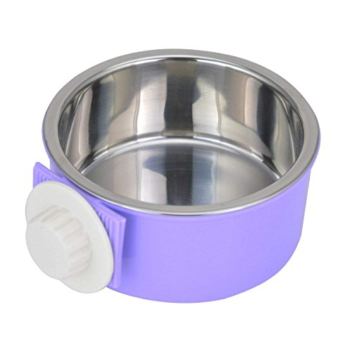 IKENOKOI ペット食器 餌入れ ペットボウル 洗いやすい 水ボウル ごはん皿 お水入れ 猫 犬 取り外し可能(パプール)