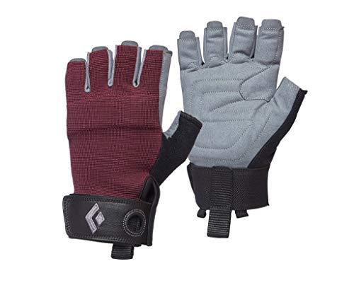 Women Crag Half-Finger Gloves - Black Diamond, Farbe-BD:Bordeaux, Groesse-BD:Medium
