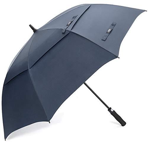G4Free 54/62/68 Inch Automatische Öffnen Golf Schirme Extra große Übergroß Doppelt Überdachung Belüftet Winddicht wasserdichte Stock Regenschirme