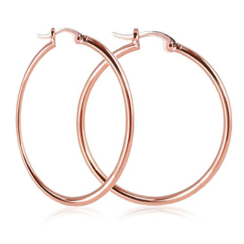 Nikita By Niki  Quality 18K Hoop Earrings For Women