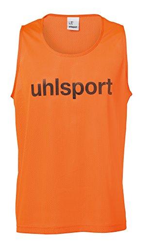 uhlsport Training Bib Peto, Accesorio de Equipaciones, Hombre, Naranja flúor, XS/S