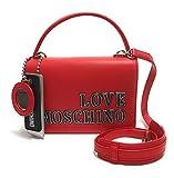 Love Moschino JC4238PP0BKG0500, Bandolera para Mujer, rojo, Normale