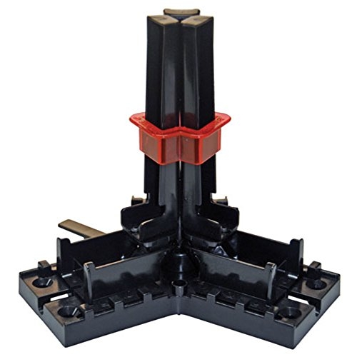 Bohning 12962 Helix Tower Fletching Jig, Black, 2.25' Vanes