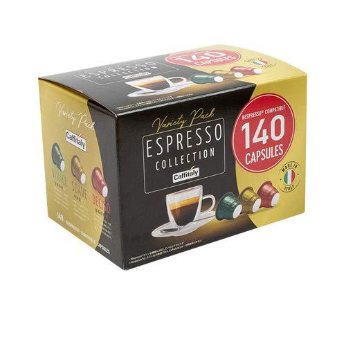 ノーブランド品 140個入り ネスプレッソ 互換 カプセル コーヒー カフィタリー 140個入り コストコ コーヒーカプセル