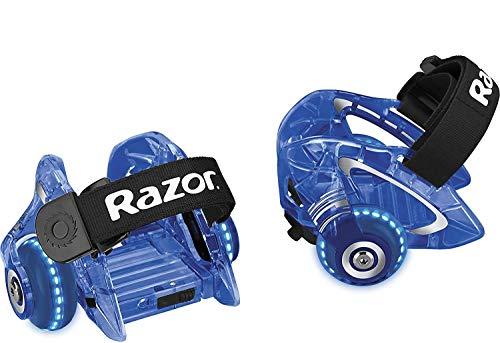 Razor Jetts DLX Heel Wheels - Blue - FFP