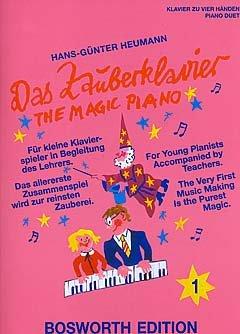 Verlag Bosworth DAS ZAUBERKLAVIER 1 - arrangiert für Klavier 4händig [Noten/Sheetmusic] Komponist: HEUMANN HANS GUENTER