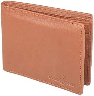 TOUGH HORN Men's Leather Wallet_THTAN00210