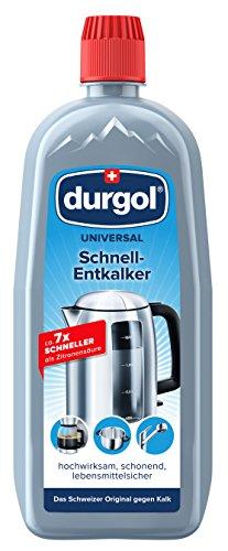 Durgol universal Schnell-Entkalker – Kalkentferner für alle Haushaltsgeräte – Deutsche Version – 1 x 750ml