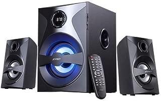 FD F380 X 2.1 Channel Multimedia Bluetooth Speakers (Black)-Pack of 2