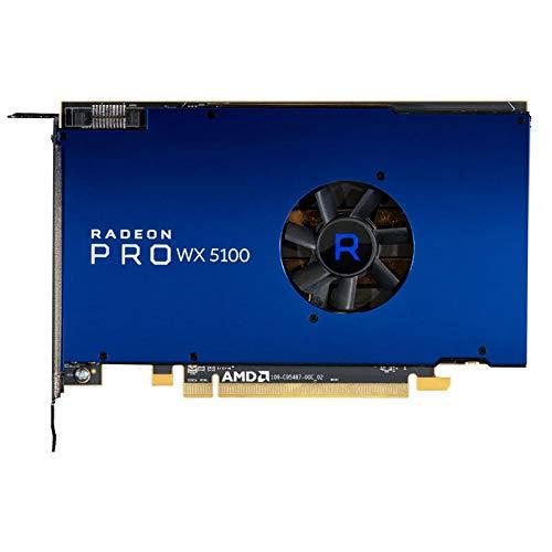 ZHEBEI Geeignet für AMD Radeon Pro WX 5100 professionelle Grafikkarte 8GB Videospeicher 4DP Videoausgang