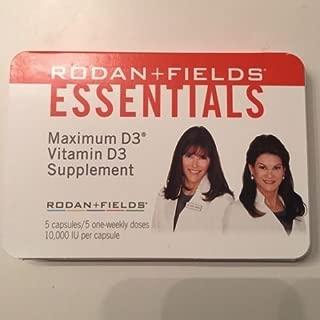 Rodan and Fields Essentials Vitamin D3 Supplements