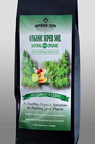 Organic Super Soil (1.2 Dry quarts) Illinois Growers Club