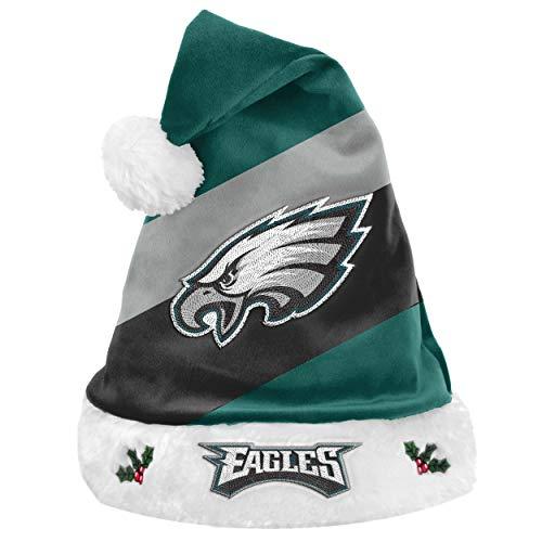 Foco NFL Philadelphia Eagles Basic Santa Claus Hat Santa Hat
