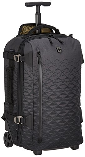 Victorinox Vx Touring Wheeled 2-in-1 Carry-On - Zaino a Mano Trolley - 2 Ruote - 23x36x55cm - Antracite