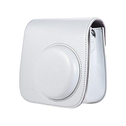 Capa para Câmera Instantânea Docooler, com Alça, para Fujifilm Instax Mini 9/8/8 + / 8 S - Branco