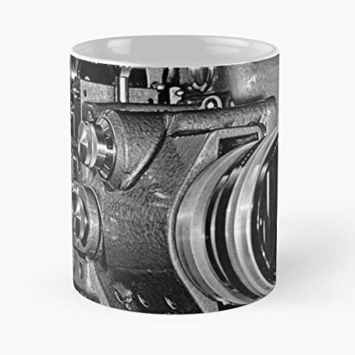 Polaroid Old Sepia Camera Land Vintage Cameras Antique Best Mug holds hand 11oz made from White marble ceramic