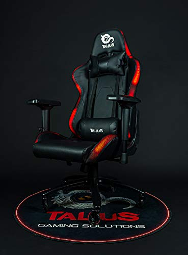 Talius Silla Camaleon Gaming RGB, reposabrazos 4D, Butterfly, Base Metal, Ruedas 75mm Silicona, pistón Clase 4