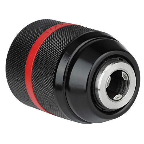 Portabrocas manual sin llave, portabrocas autoajustable de montaje 1/2-20UNF para múltiples propósitos Brocas de 2~13 mm